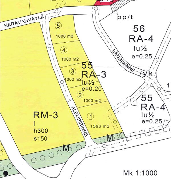 Kajomer tarjoaa myyntiin rakennusvalmiita tontteja Sappeella, osoitteessa Alempirinne 8