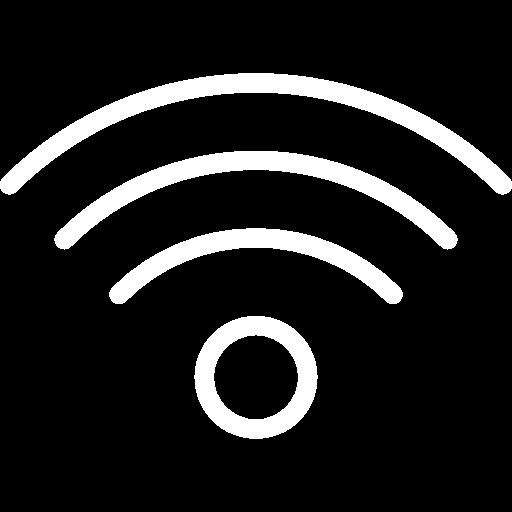 Kajomerin mökkivarustelun wifi kuvake.
